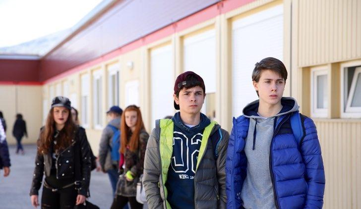 L'Aquila Grandi Speranze Andrea Pittorino e Gabriele Fiore Credits RAI