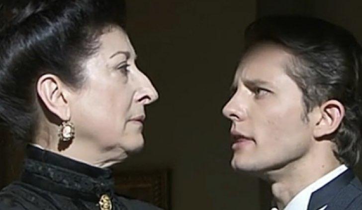 Samuel e Ursula in Una vita Soap Opera Credits Mediaset