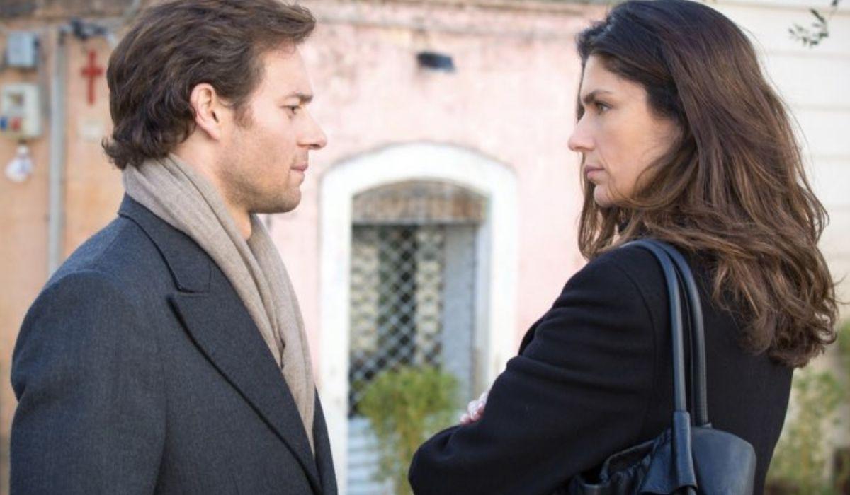 Sorelle con Anna Valle e Giorgio Marchese nella fiction Credits Rai