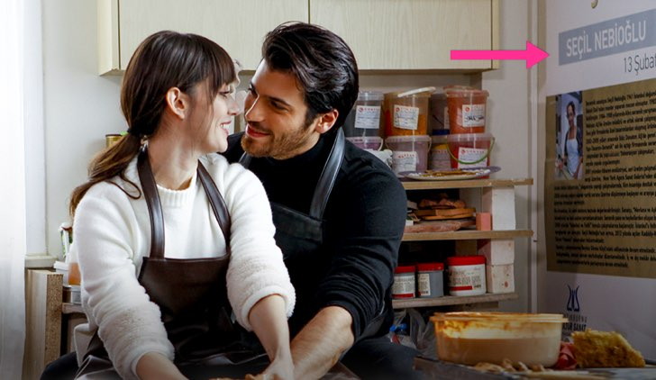 Bitter Sweet - Ingredienti d'amore Dolunay in turco Credits Star TV e Mediaset