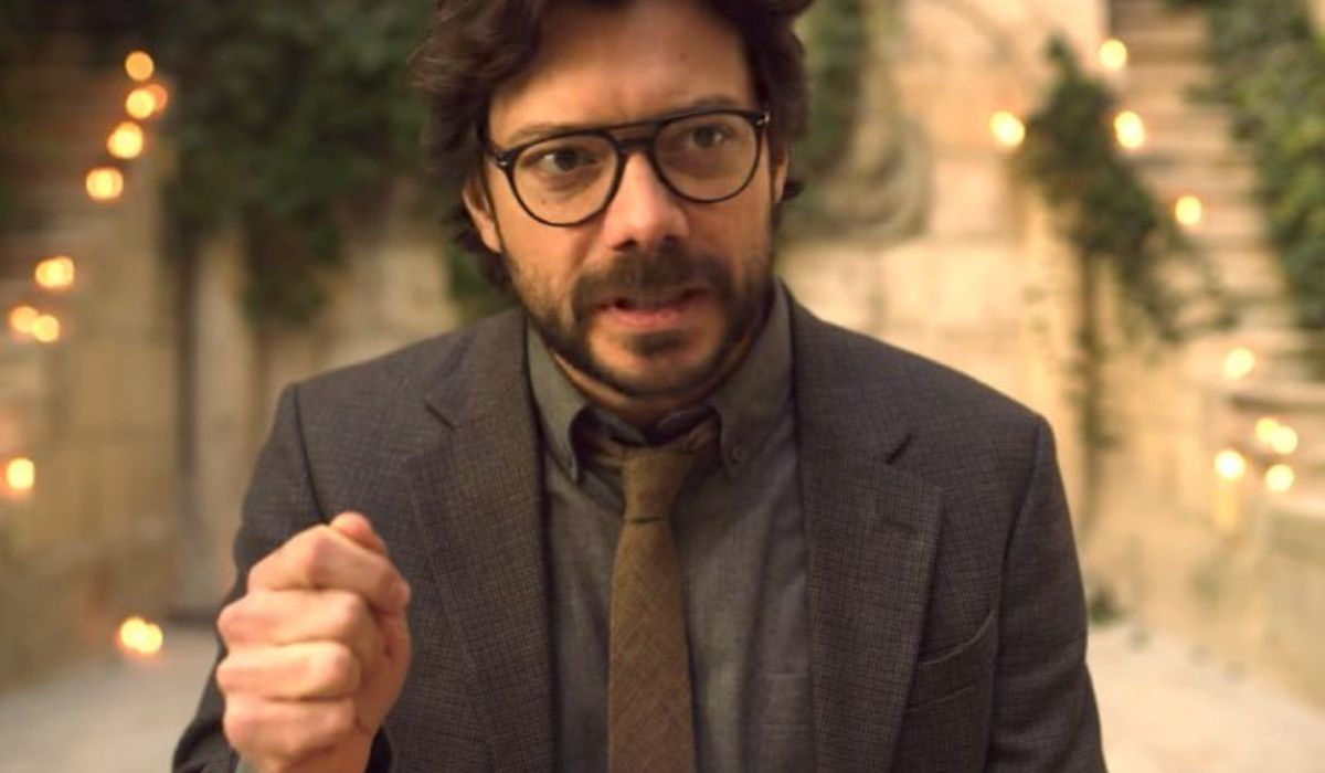 Alvaro Morte è Il Professore ne La casa di carta Credits Netflix