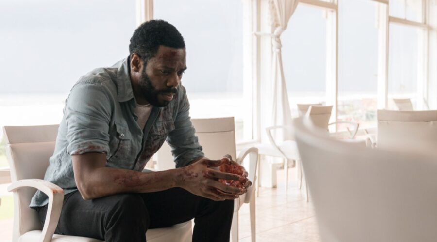 Colman Domingo nei panni di Victor Strand in una scena di Fear The Walking Dead. Credits MTV