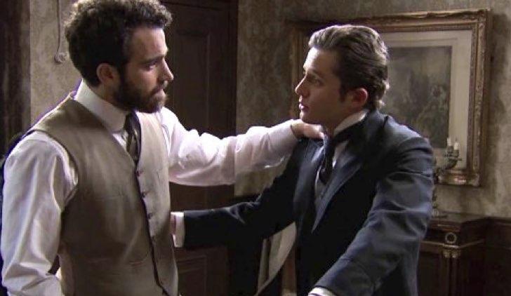 Diego e Samuel in Una Vita Credits Mediaset