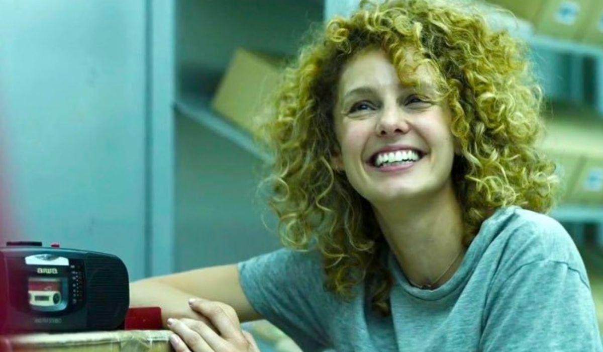 Esther Acebo è Stoccolma ne La casa di carta Credits Netflix
