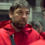 Hovik Keuchkerian è Bogotà ne La casa di carta Credits Netflix