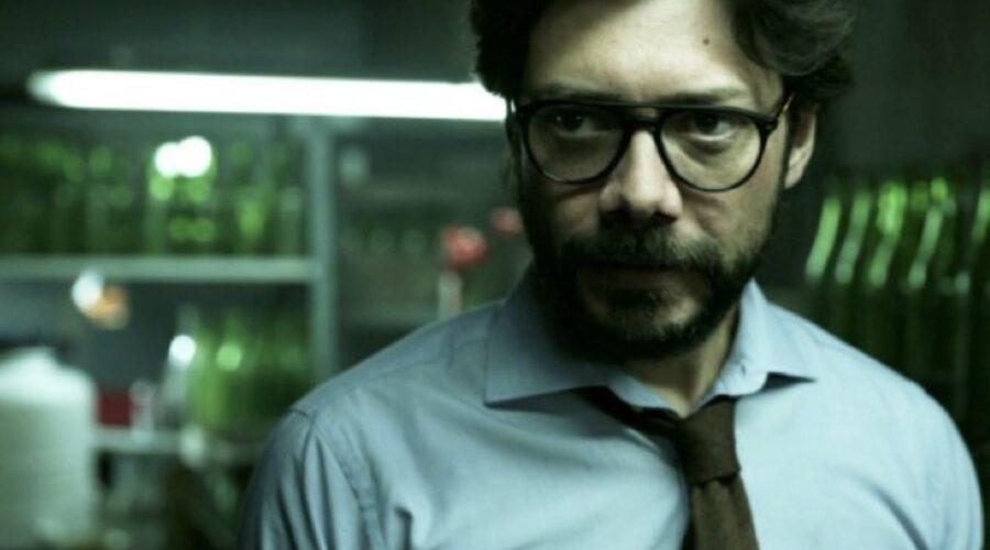 Il Professore (Sergio) ne La casa di carta Credits Netflix