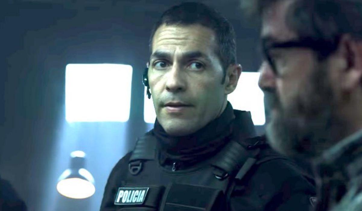 Mario de La Rosa è Suarez ne La casa di carta Credits Netflix