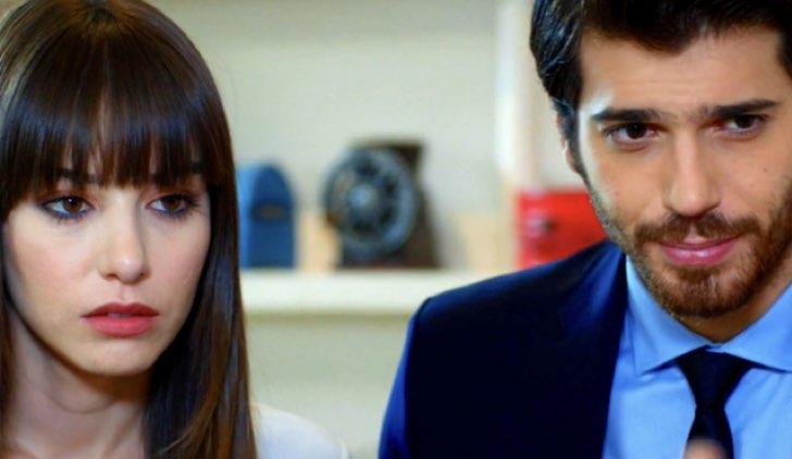 Nazli e Ferit nella soap Bitter Sweet Credits Star tv e Mediaset