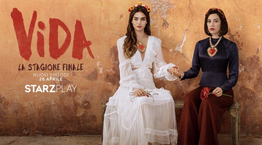 Poster di Vida 3 la stagione finale. Credits Starzplay