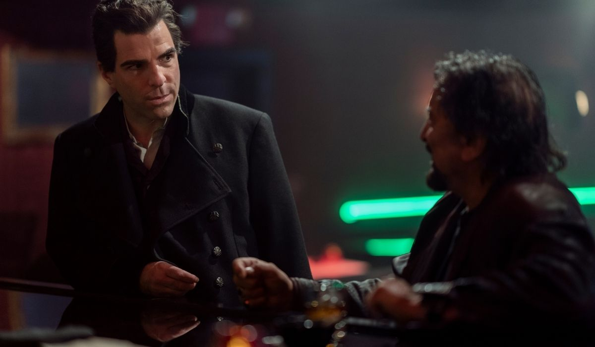 Zachary Quinto in una scena di NOS4A2 stagione 2 Credits AMC e Prime Video