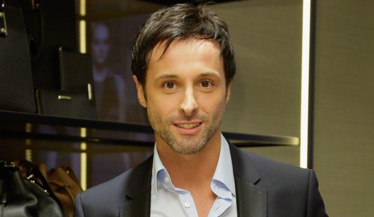 Giordano Petri è Franco ne Il paradiso delle signore Daily 2, qui all'apertura di Hugo Boss Store nel corso del Rome Film Festival 2014 Credits Ernesto Ruscio e Getty Images