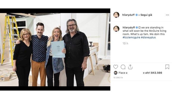 Hilary Duff foto revival Lizzie McGuire Instagram