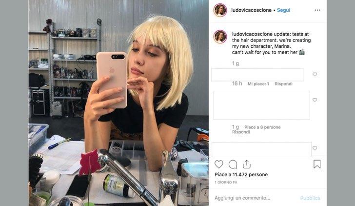 Il paradiso delle signore Daily 2 Ludovica Coscione è Marina, foto pubblicata dall'attrice sul suo profilo Instagram ufficiale il 30 luglio 2019