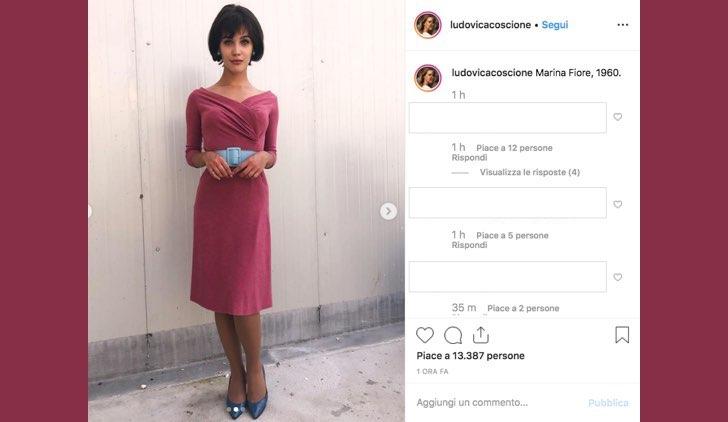 Il paradiso delle signore Daily 2 Marina Fiore è interpretata da Ludovica Coscione, foto pubblicata sul suo profilo Instagram il 2 luglio 2019