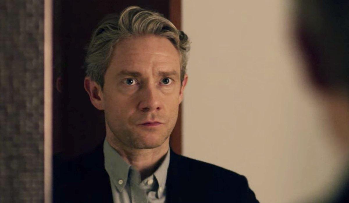 StartUp: qui Martin Freeman in una scena dell'episodio 1 della prima stagione. Credits: Netflix