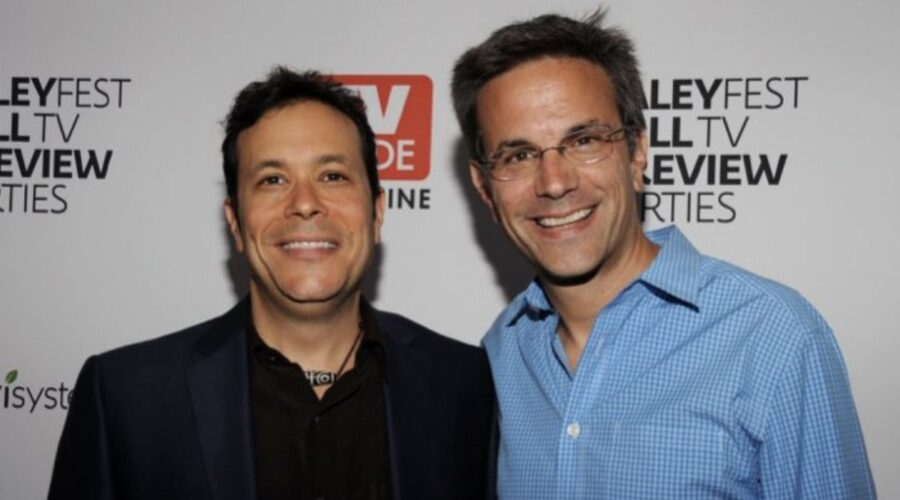Darren Swimmer e Todd Slavkin. Credits Amanda Edwards/Getty Images