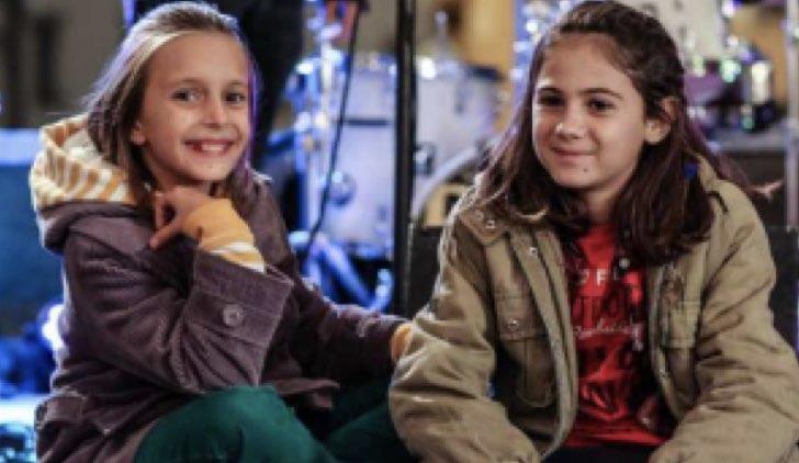 Emma e Viola in Volevo fare la Rockstar Credits Rai