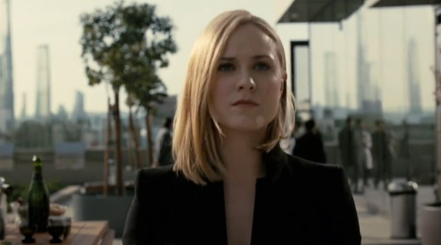 Eva Rachel Wood nel trailer di Westworld 3. Credits HBO Sky Atlantic
