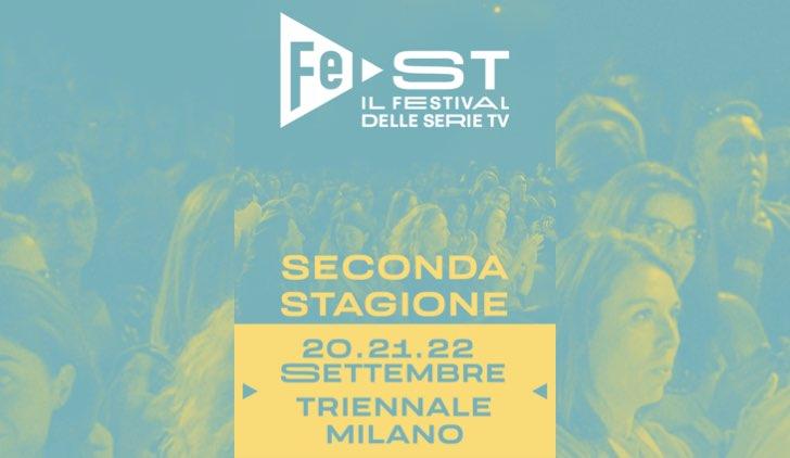 Poster del FeST Festival Serie Tv edizione 2019
