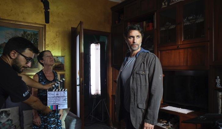 Giustizia per tutti Raoul Bova sul set a Torino Credits Mediaset
