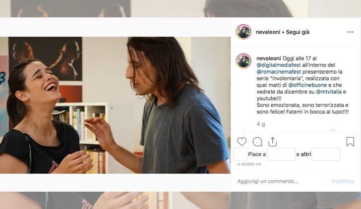 Il 19 ottobre 2019 Neva Leoni sul suo account Instagram annuncia il debutto di Involontaria su MTV e YouTube