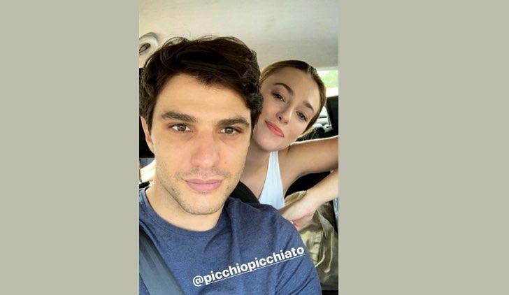 Il paradiso delle signore 4 accoglie nel cast Alessia Debandi e Pietro Masotti, qui in una Instagram Stories di Alessia Debandi