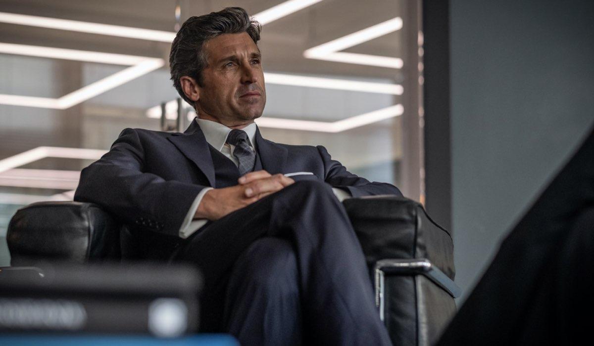 Patrick Dempsey nei panni di Dominic Morgan. Credits Sky Italia/Antonello & Montesi