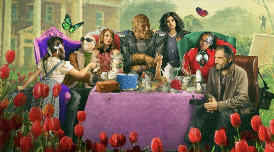 Poster di Doom Patrol 2 stagione. Credits HBO Max e Amazon Prime Video