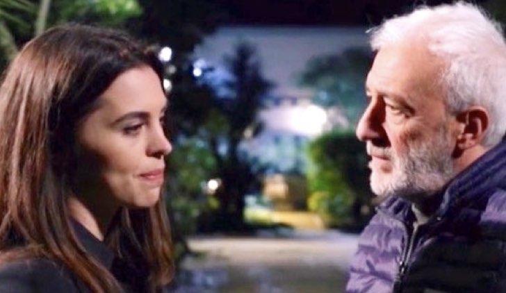 Beatrice e Raffaele in Un Posto al Sole soap opera Credits Rai
