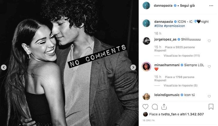 Danna Paola Instagram Jorge Lopez Elite