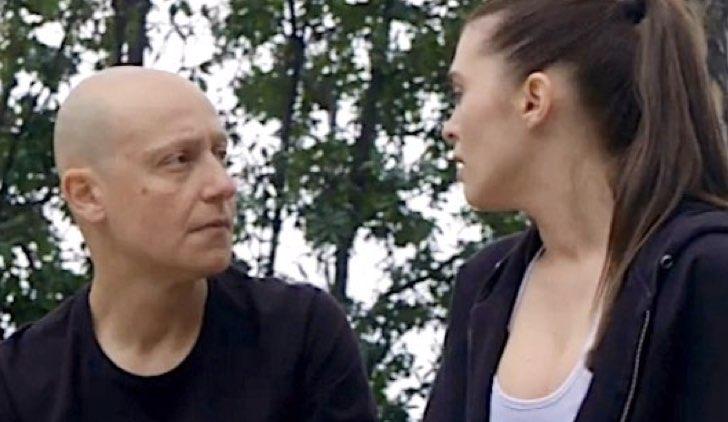 Diego e Beatrice in Un Posto al Sole soap opera Credits Rai