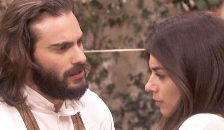Elsa e Isaac ne Il Segreto soap opera Credits Mediaset