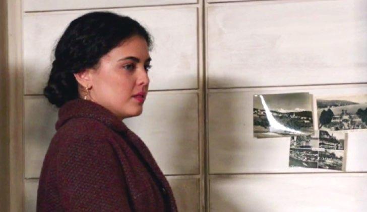 Il Paradiso delle Signore 4 Maria Puglisi quando lascia casa Amato nella puntata 24 Credits RAI