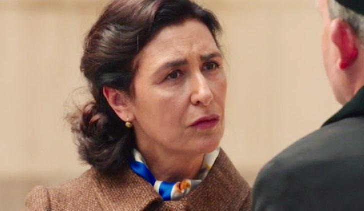 Il paradiso delle signore 4 Agnese Amato incontra Don Saverio nella puntata 4 Credits RAI
