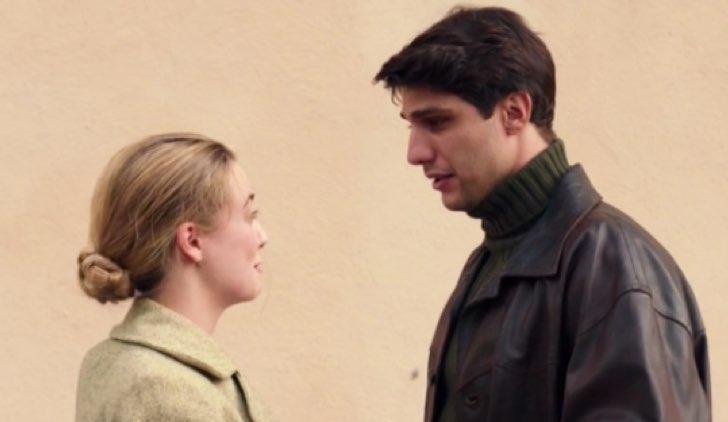 Il paradiso delle signore 4 Angela e Marcello nell'episodio 5 quando lui esce dalla prigione Credits RAI