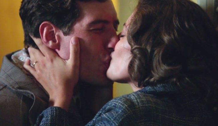 Il paradiso delle signore 4 Riccardo e Nicoletta si baciano nella puntata 10 Credits RAI