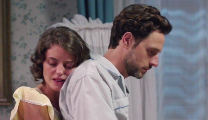 Il paradiso delle signore Cesare Diamante e Nicoletta Cattaneo nell'episodio 6 Credits RAI