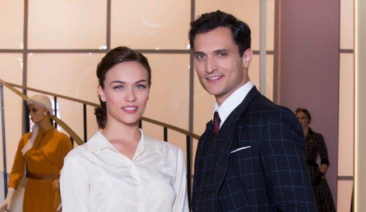 Il paradiso delle signore Daily 1 Marta e Vittorio al grande magazzino foto dal pressbook ufficiale Credits RAI