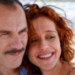 Imma Tataranni con Massimiliano Gallo e Vanessa Scalera che interpretano Pietro e Imma Credits RAI