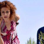 Imma Tataranni e Calogiuri in una scena della prima stagione della fiction Credits RAI