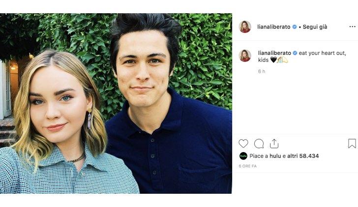 Liana Liberato Wolfgang Novogratz Instagram