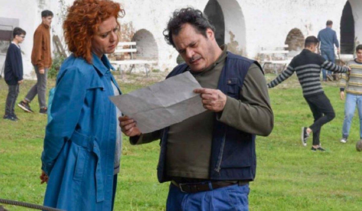 Una scena di Imma Tataranni con Vanessa Scalera che interpreta la protagonista Imma Credits RAI
