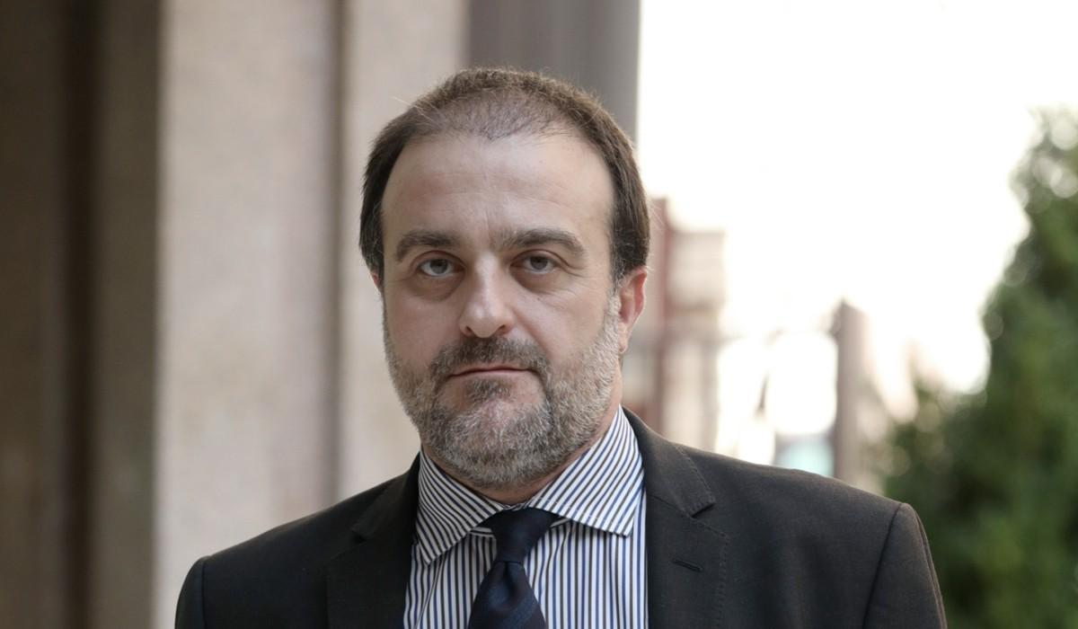 Attore Filippo Dini (Baldi in Rocco Schiavone) Credits: Elisabetta A Villa/Getty Images