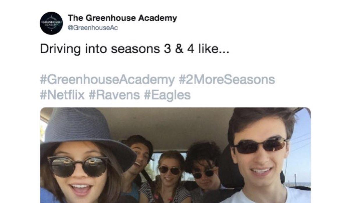greenhouse academy 4 Credits Twitter