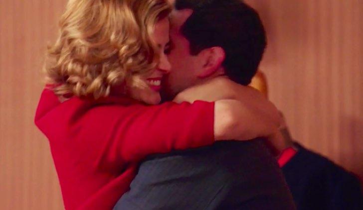 Il Paradiso delle SIgnore 4 Gabriella abbraccia Salvatore nella puntata 15 Credits RAI
