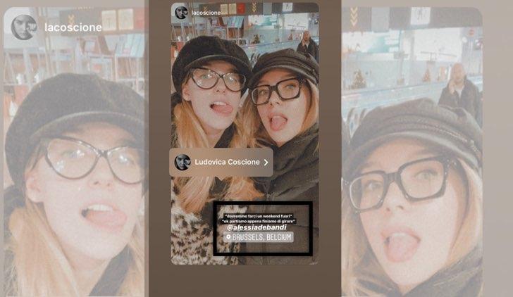 Il Paradiso delle Signore 4 Ludovica Coscione e Alessia Debandi partono per il weekend pubblicata da Ludovica Coscione sul suo account Instagram