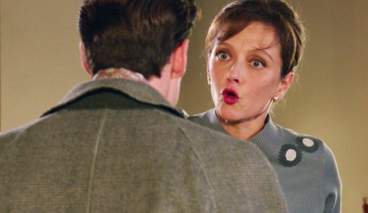 Il Paradiso delle Signore 4 Riccardo discute con Silvia dopo la partenza di Nicoletta nella puntata 26 Credits RAI
