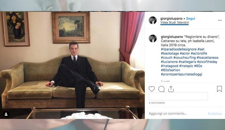 Il Paradiso delle Signore dove è Casa Cattaneo foto pubblicata da Giorgio Lupano sul suo profilo Instagram