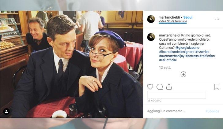 Il Paradiso delle Signore dove è la Caffetteria foto pubblicata da Marta Richeldi sul suo profilo Instagram