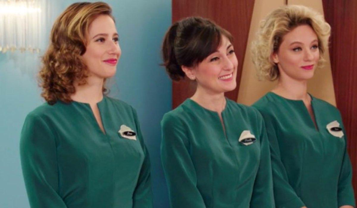 Il paradiso delle signore 4 Dora, Paola e Irene nella puntata 22 Credits RAI